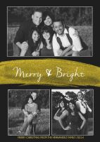 Merry and bright Christmas card by lisawheels89