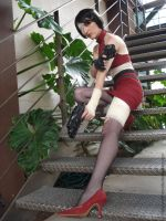Ada Wong Cosplay 3 by An0therSide