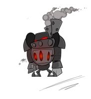 Furnace-bot Concept by TemplarOfBacon