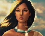 Pocahontas by pain-art