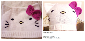 Hello Kitty Beanie v. 2 by Stitch-Happy