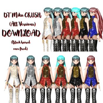 DT Miku CRUSH +DL+ (All Versions incluided) by MegurineSempai