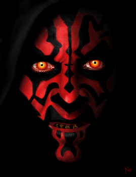 Darth Maul by Brunwen