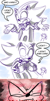 Shadow reacting to Sonic possibly being dead by Gigi-D