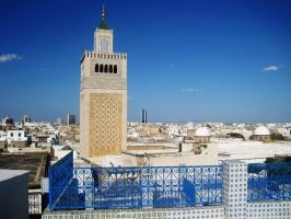 Panorama from Tunis by CHAFRA
