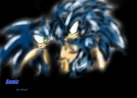Sonic and Sonic by Mimy92Sonadow