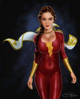 Mary Marvel Update by DansArtRealm