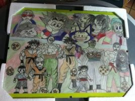 Dragonball Friends... by MARLY272000