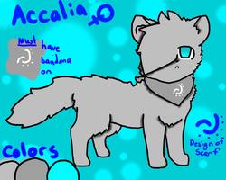 Accalia Reference by Azuriite