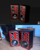 Real Altus 75 and Cinema 4D by Flora332