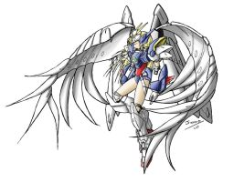 Wing Zero Custom Girl by Mike-Oliveras