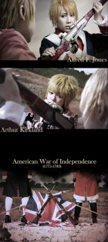 APH-Independece War by kushiyaki-group