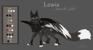 Lewis - Character sheet by hecatehell
