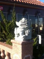 Asian Bistro Statue by Mike-The-Winner