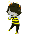Mituna Bumble Bee by JiggleJello