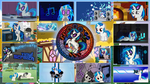 Vinyl Scratch - Stained Wallpapers by GT4tube