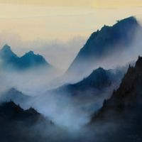 Misty Mountains by theLastSamu