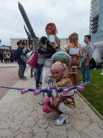 Serah Farron with the BEST Ligthning FF XIII-2 by SerahChan