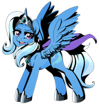 Commission: Princess Trixie by linamomoko