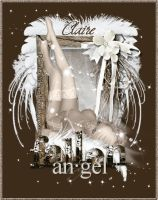 FallenAngel Claire's Designs (Posers) by LenasCreations
