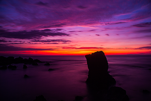 Sunset rock II by lee-sutil