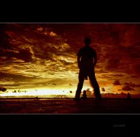 Red sky by juhe