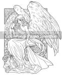 Coloring Page: Heart of Gold by Saimain