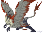 Griffin by tokoeka