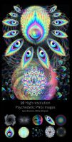 Psychedelic Stock Imagery Pack 4 by LouisDyer