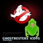 Ghostbusters Icon Set 1 by scott-the-stampede