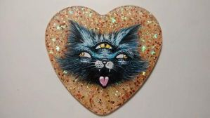 3 eyed cat monster by CrassnCute