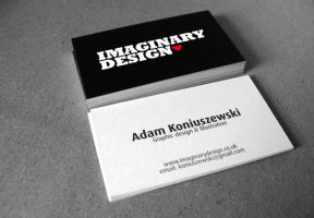 Business cards Imaginary by HanibalLecter
