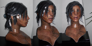 Life-Size Lara Project - Head Finished by Sabi996