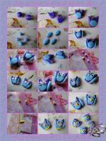 Tutorial How to make an Owl with Polymer Clay by FrancescaBrt