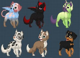 CHEAP pup adopts! by xXfree--pointsXx