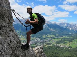 via ferrata by iff11
