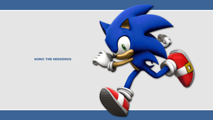 Sonic Channel Wallpaper 2011: Sonic by Lucas-da-Hedgehog