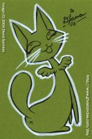 Index cards: 001 - angel kitty by amegoddess