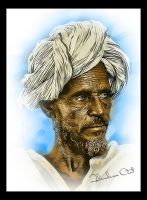 Old Man from ERITREA by M-AlJabarty