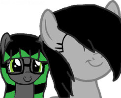 Moon Storm and Slyph! [Bat Sisters] by RubytheCat12