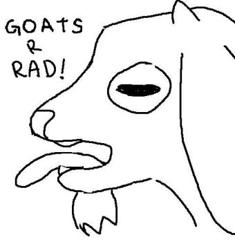 Goats R Rad by consolita