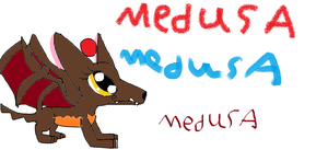 Medusa the Werepyre by Me-MowTheCat