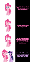 Pinkie says Vote! by Undead-Niklos