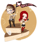 RACLETTE PARTY by M0onQueen