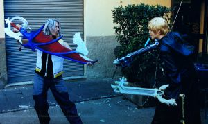 KH Cosplay - Engarde, Riku by AoiNoKitsune