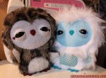Barn and Arctic Owlets by loveandasandwich