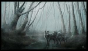 wolves by ThomasAKing