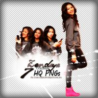 Zendaya Coleman PNG PACK by DesignCreationsOffi