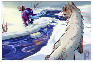 And off you go! by impalae