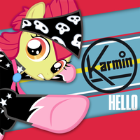 Karmin - Hello (Apple Bloom) by AdrianImpalaMata